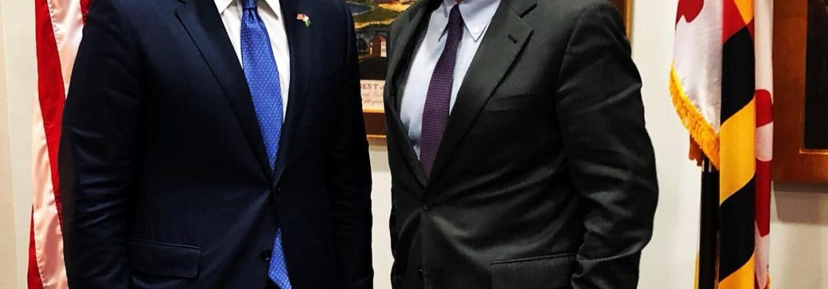 Fundi meets with Senator Van Hollen