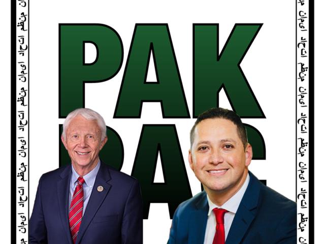 Congressman Bergman and Tony Gonzales